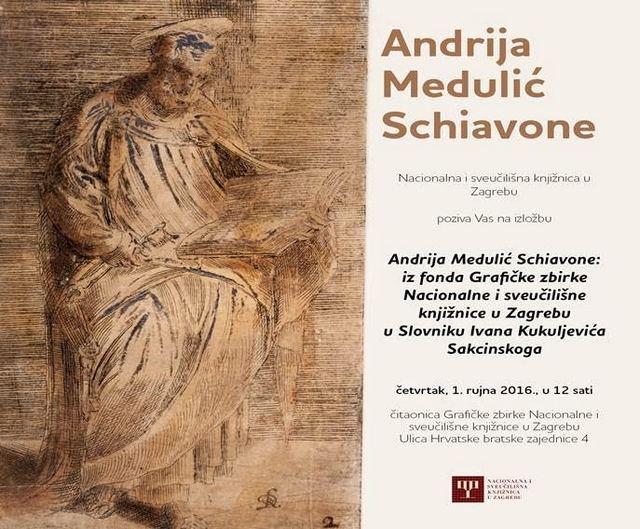 Nacionalna I Sveucilisna Knjiznica Izlozba Andrija Medulic Schiavone