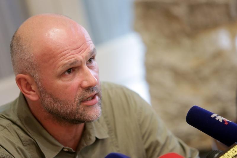 Saša Leković u košulji agresorske vojske